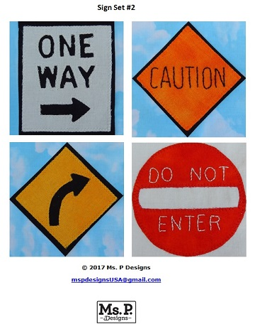 Sign Set 2 by Ms P Designs USA
