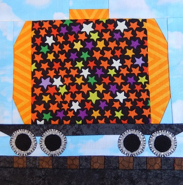 Tanker Train Car Paper Pieced Pattern by Ms P Designs USA