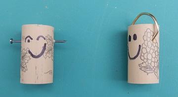 Snowman Corks by Ms P Designs USA