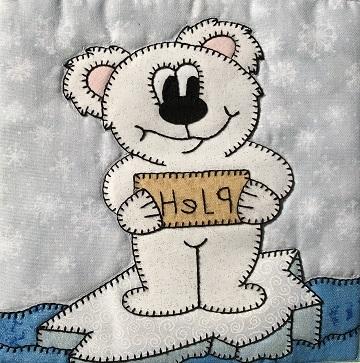 Help Polar Bear by Ms P Designs USA