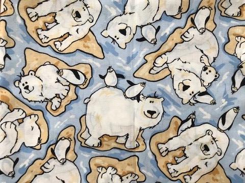 Polar Pals Inspiration Fabric