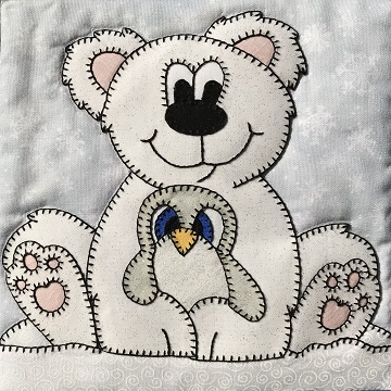 Polar Bear and Penguin Friends by Ms P Designs USA