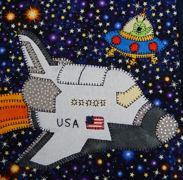 space shuttle by ms p designs usa