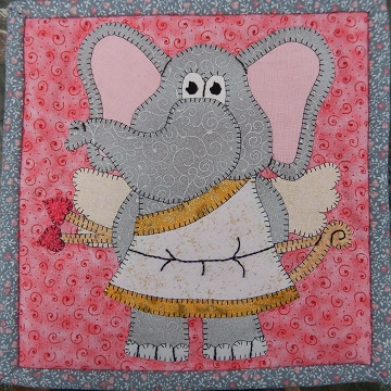 Cupid Elephant by Ms P Designs USA