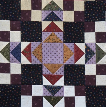 Flying Geese block by Ms P Designs USA