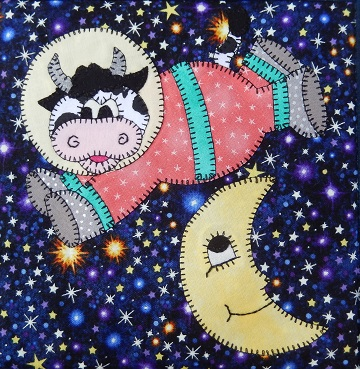 over the moon cow by ms p designs usa