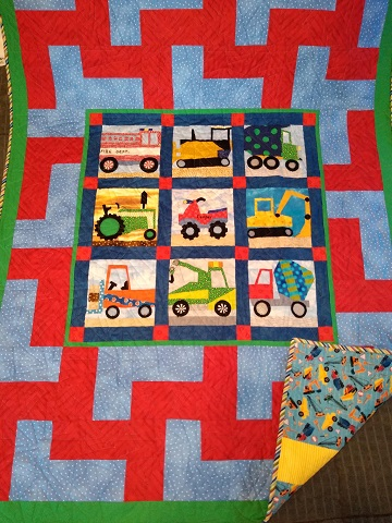 Cooper's Quilt by Linda R