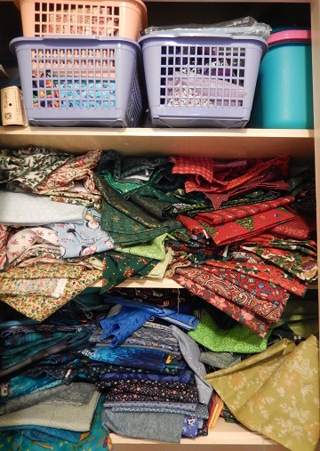 Fabric storage Before