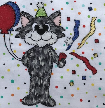 Party Kitty by Ms P Designs USA