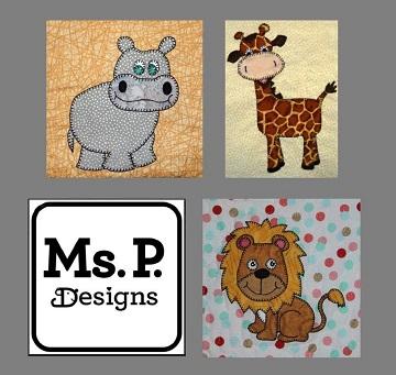 Safari or Zoo Animal Bundle by Ms P Designs USA
