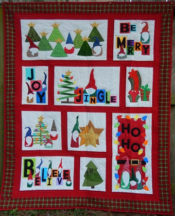 Sharon's Gnome for the Holidays Quilt