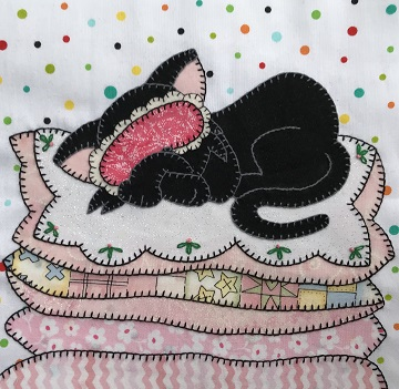 Sleepy Kitty by Ms P Designs USA