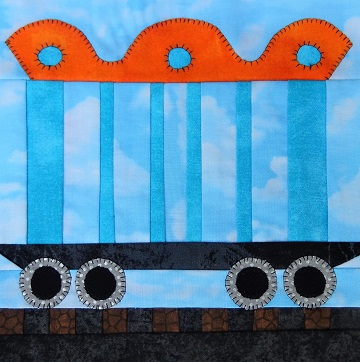 Train Car A Trains by Ms P Designs USA