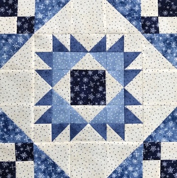 Dutchman's Puzzle Variation by Ms P Designs USA