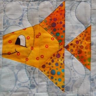 Something Fishy B by Ms P Designs USA
