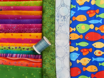 Something Fishy Fabric Pull from Ms P Designs USA