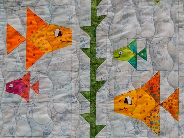 Something Fishy Kelp by Ms P Designs USA