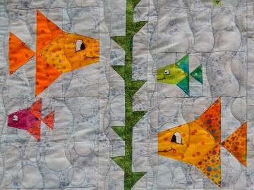 Something Fishy Kelp by Ms P Designs USA