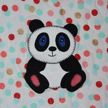 Giant Panda by Ms P Designs USA