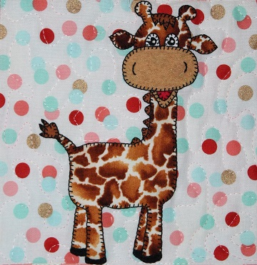 Giraffe by Ms P Designs USA