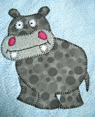 Hippopotamus by Ms P Designs USA