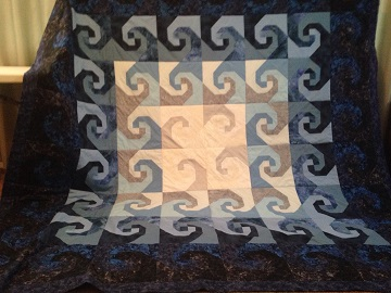 Nancy C Wave Quilt