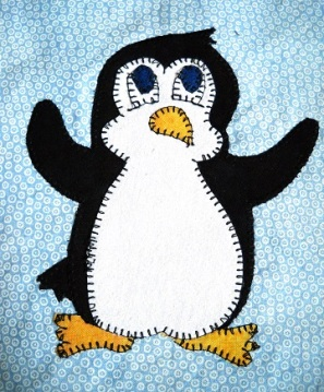 Penguin by Ms P Designs USA