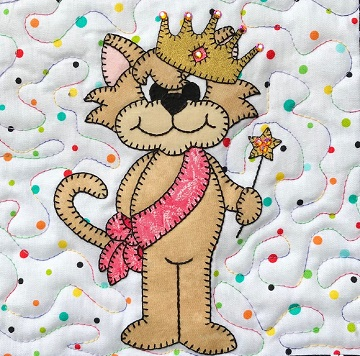 Pretty Princess Kitty by Ms P Designs USA