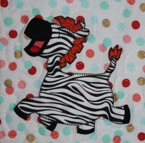 Zebra by Ms P Designs USA