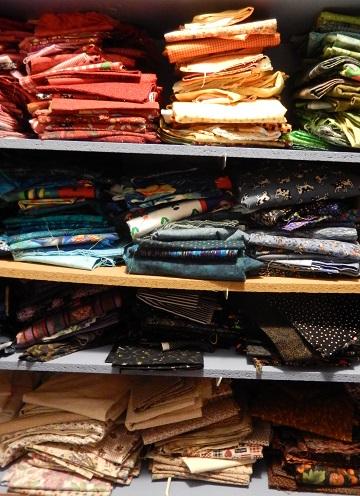 Fabric stash storage by Sharon Ms P Designs USA