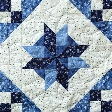 Pinwheel Star Variation by Ms P Designs USA