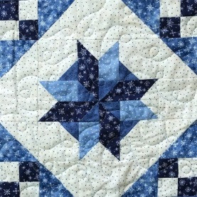 Pinwheel Star Variation by Ms P Designs USA