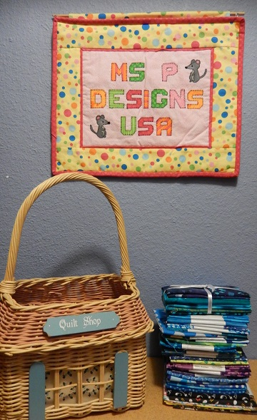 Quilt shop is open by Sharon @ Ms P Designs USA
