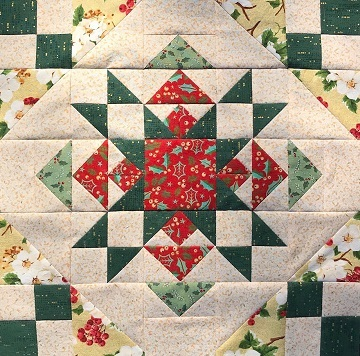 Christmas Star Variation by Ms P Designs USA