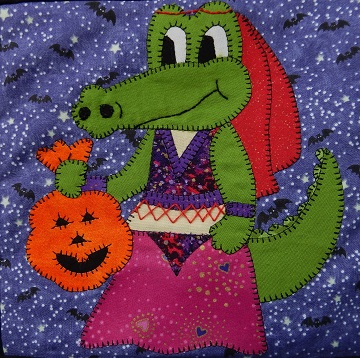Belly Dancer Alligator by Ms P Designs USA