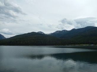 Hyalite Reservoir Hike July 2019 by Sharon @ Ms P Designs USA