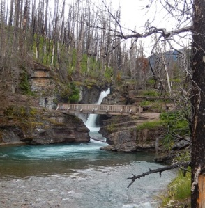 St Mary Falls Bridge in GNP July 2019 by Sharon @ Ms P Designs USA