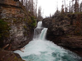 St Mary Falls July 2019 by Sharon @ Ms P Designs USA