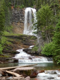 Virginia Falls in GNP July 2019 by Sharon @ Ms P Designs USA