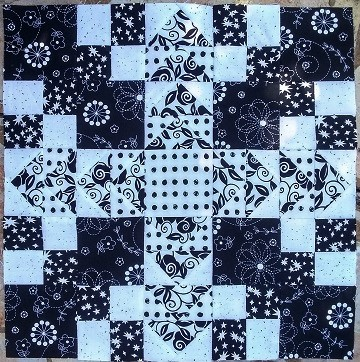 Black and White Wild Goose Chase by Susan @ Ms P Designs USA