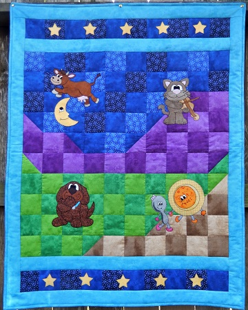Hey Diddle Diddle Quilt by Ms P Designs USA