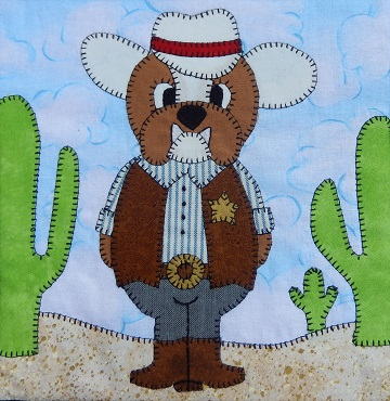 Sheriff Dawg by Ms P Designs USA