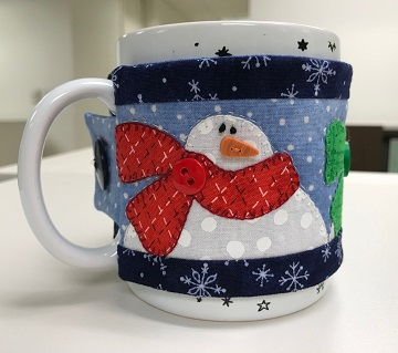 Snowman Cozie B by Susan