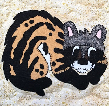 Civet Cat by Ms P Designs USA