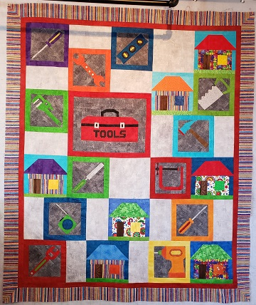 Tools quilt by Debbie S