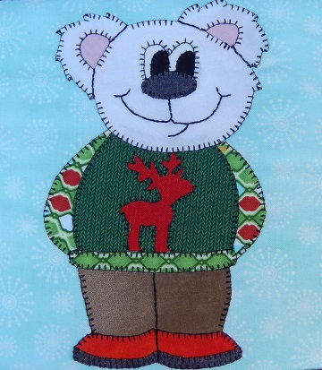 Ugly Sweater Bear by Ms P Designs USA
