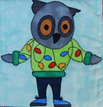 Ugly Sweater Owl by Ms P Designs USA