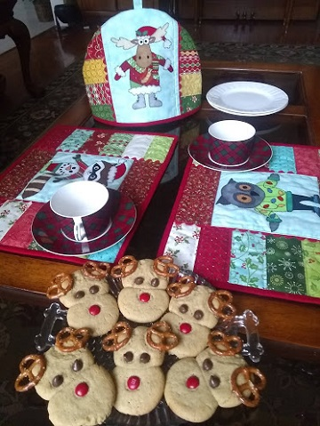 Christmas Tea Party by Ms P Designs USA