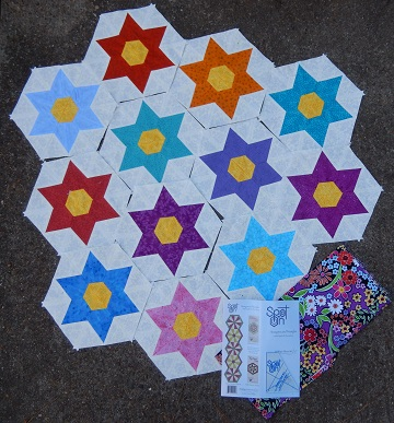 Diamond Star Blocks by Sharon @ Ms P Designs USA