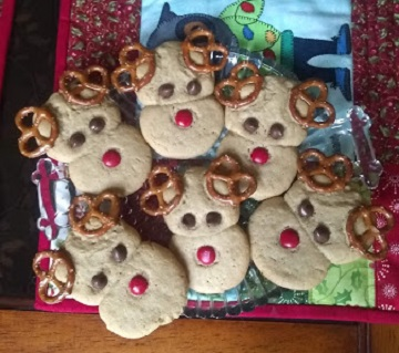 Peanut Butter Cookie Reindeer by Ms P Designs USA